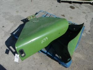 John Deere 4020 To 3010 Tractor Left right Fenders W Bracket Tag 233