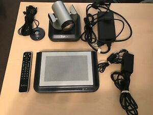Lifesize Express 220 Video Conferencing Bundle Complete System Great Cond