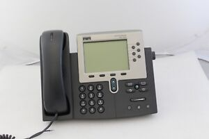 Lot Of 4 Cisco 7961g Cp 7961g Unified Ip Voip Phones Used