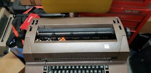Ibm Correcting Selectric Ii Typewriter Tan Works But Should Be Serviced