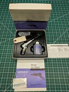 Midwest Shorty Two Speed Air Motor Handpiece 710024w 710024 W Wa