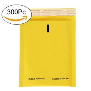 Pandaspa 0 6x10 Premium Kraft Bubble Mailers Gold Self Seal Padded Pack Of 300