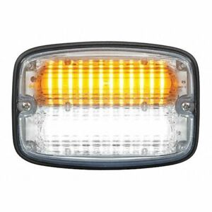 Federal Signal Fr6c aw Warning Light led amber white 1 1 32 L