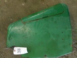 John Deere 4020 Tractor Left Side Hydraulic Cover Panel W Tool Box Tag 266