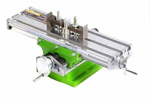 Amyamy Compound Slide Table Worktable Milling Working Cross Table Milling