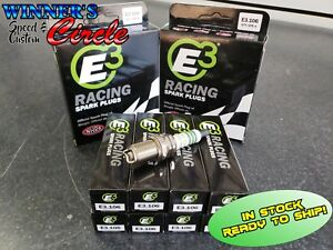 E3 Spark Plugs E3 106 Race Plug 14mm 750 Reach Gasket Seat Set Of 8 Plugs
