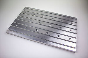 Aluminum T slot Plate Fixture Plate 24 x16 Clamping