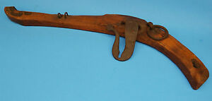 Vintage Wood Iron Horse Mule Oxen Harness Hames Collar Yoke
