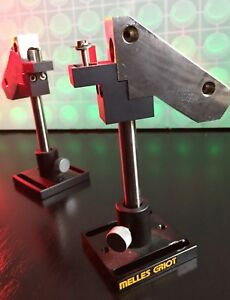 Melles Griot Adjustable Optical Post Holder Customized Prism Mount With Prism