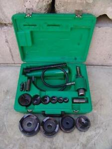Greenlee 7310 1 2 To 4 Hydraulic Knock Out Punch 12 L k