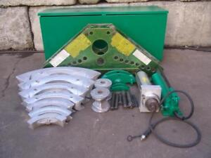 Greenlee 884 Rigid Bender 1 1 4 To 4 With Hand Pump 5