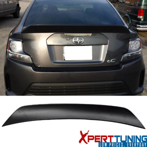Fits 11 16 Scion Tc Rs Style Unpainted Abs Trunk Spoiler Wing
