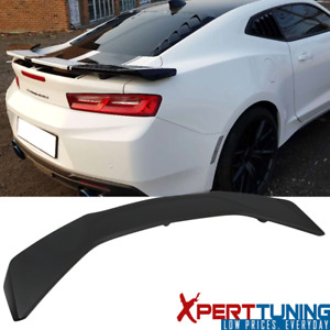 Fits 16 19 Chevy Camaro Zl1 Style Abs Trunk Spoiler Wing