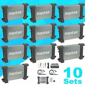 Lot 10 Hantek 6022be Professional Pc Usb Digital Storage Virtual Oscilloscope Bu