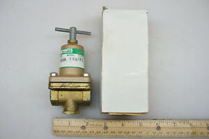 Watts Water Pressure Reducing Regulator 263a 3 8 Npt 10 125 Psi Usa