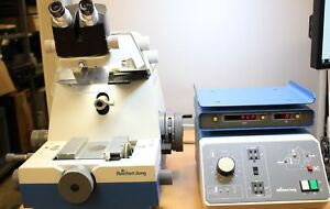 Reichert jung Ultracut E 701704 Microtome Stereo Star Zoom And Controller