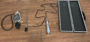 Vintage Veterinary Opthalmoscope Otoscope Medical Diagnostic Services Light