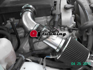 Black Cold Air Intake Kit Filter For 2007 2009 Hummer H3 3 7l L5