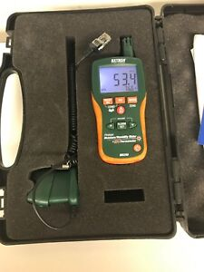 Extech Mo290 Pinless Moisture Meter With Probe And Case Nice Ahape