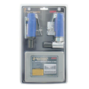 Astro Pneumatic 1 4 Angle Mini Air Die Grinder Combo Kit 1221 New
