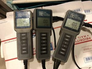3 Ysi 85 Handheld Oxygen And 1 Ysi 550a Monitor System