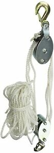 Brand New Grip 18095 2 ton Rope Pulley Hoist