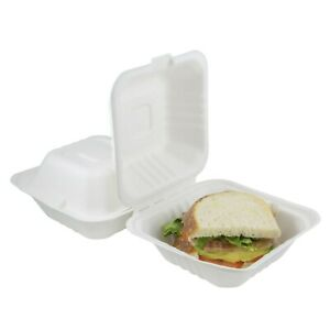 Houseables Takeout Containers To Go Box Restaurant Take Out Food Container 10