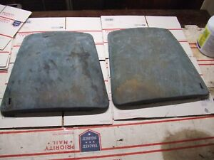 1967 70 Camaro Bucket Seat Backs Original Firebird 1969 68