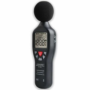 Kasuntest Professional Sound Level Meter Digital Noise Tester Range 30 To 130db