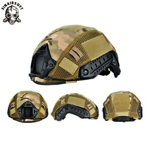 Tactical Airsoft Fast Helmet Cover With Breathable mesh For Fast Helmet BJPJMH