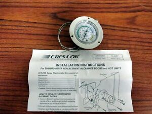 Cres Cor Refrigerated Cabinet Thermometer P n 5238 9