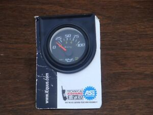 Iequus Oil Pressure Guage New In Package