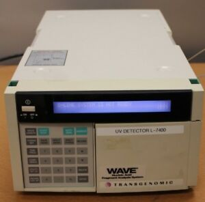 Hitachi Transgenomic Uv Detector L 7400 Wave Nucleic Acid Fragment System