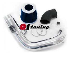 Blue Cold Air Intake Kit Filter For 2005 07 Chevy Cobalt Ss 2 0 Supercharged
