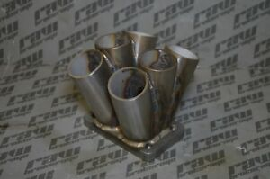 Custom Stainless Turbo Collector Twin Scroll 6 Runner T3 1 25 Non Wastegate