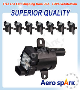 Pack 8 Ignition Coils On Plug Uf262 For Buick Chevrolet Isuzu Gmc 4 8l 5 3l 6 0l