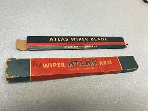 Vintage Atlas Wiper Blade Arm Plus Anco Windshield Arms