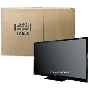 Tv Box Mailers Moving Fits To 70 Plasma Lcd Or Led Tv Size 72x8x42