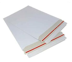 1 200 Qty 11x13 5 Rigid Photo Paperboard Envelope Mailers Self Sealing 26pt