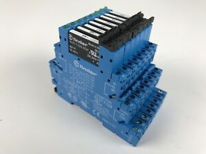 8 Finder 93 01 7 024 Relay Sockets W 8 Finder 34 81 7 024 9024 Relays