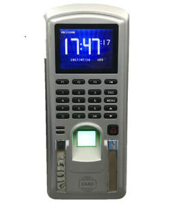 Realand Fingerprint Access Control Terminal Mf151 With 125khz Card Time Clock