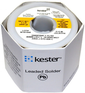 Kester Leaded Solder Wire Soldering Accessories Supplies High Activity Ra Core