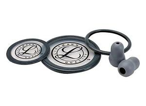 3m Littmann 40004 Cardiology Iii Stethoscope Spare Parts Kit Grey
