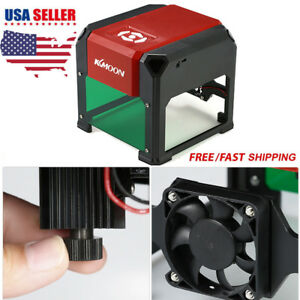 3000mw Usb Laser Engraving Machine Diy Logo Marking Printer Engraver Cutting Us