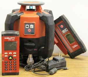 Hilti Pr 2 hs Rotary Laser Level Complete In Case