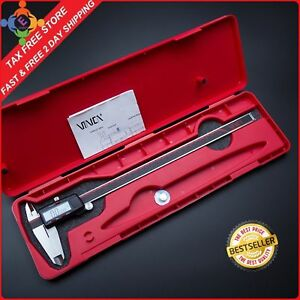 Best Digital Caliper Vernier Stainless Steel Electronic Micrometer 12inch 300mm