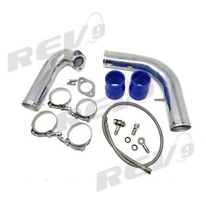Rev9 Turbo J Pipe Kit For 95 99 2g Eclipse Talon Tsi Dsm 16g 20g Gst Gsx 4g63