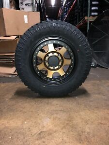 18x9 Mayhem Prodigy Bronze Wheels 33 Atturo Xt Tires Package Jeep Wrangler Jk