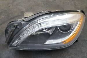 Left Headlight Headlamp 1668204361 Mercedes Ml63 Amg Ml350 W166 2012 15 note