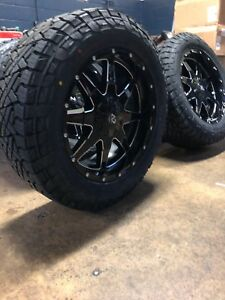 20x9 A2or1 Offroad Wheels 285 55r20 Fuel Gripper At Tires 6x5 5 Chevy Gmc